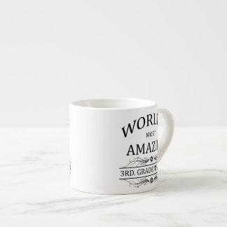 Profesor más asombroso del grado del mundo el 3ro taza espresso