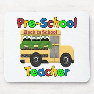 Profesor Mousepad del preescolar