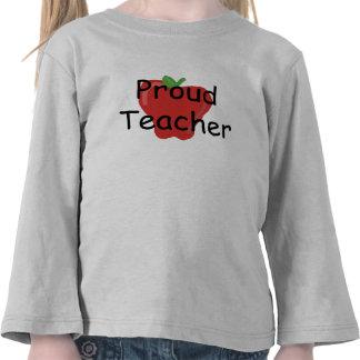 Profesor orgulloso camisetas