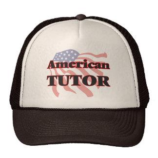 Profesor particular americano gorras