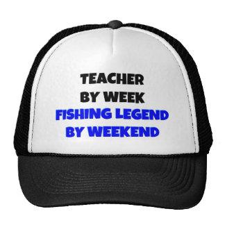 Profesor por leyenda de la pesca de la semana por  gorro de camionero