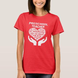 Profesor preescolar playera