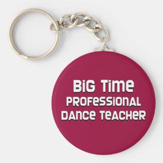 Profesor profesional de la danza de la primera lín llavero personalizado