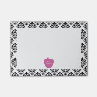 Profesor rosado del damasco de Apple Notas Post-it®