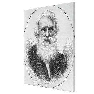 Profesor Samuel Finley Breese Morse Impresion De Lienzo