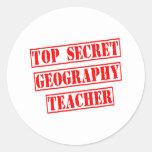 Profesor secretísimo de la geografía pegatinas