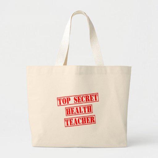 Profesor secretísimo de la salud bolsas lienzo