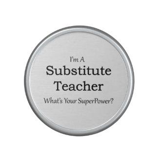 profesor sustituto altavoz con bluetooth