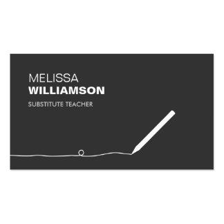 Profesor, tarjeta de visita del educador