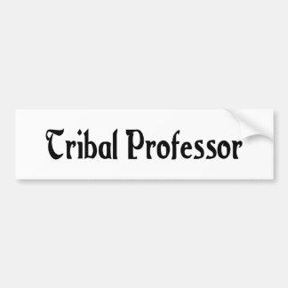 Profesor tribal pegatina para el parachoques pegatina para auto