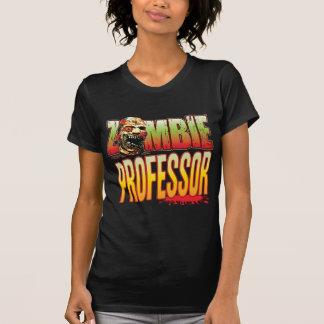 Profesor Zombie Head Camisetas