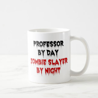Profesor Zombie Slayer Tazas De Café