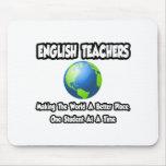 Profesores de inglés… que hacen el mundo un mejor  tapete de ratones