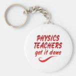 Profesores de la física llaveros personalizados