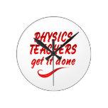 Profesores de la física relojes