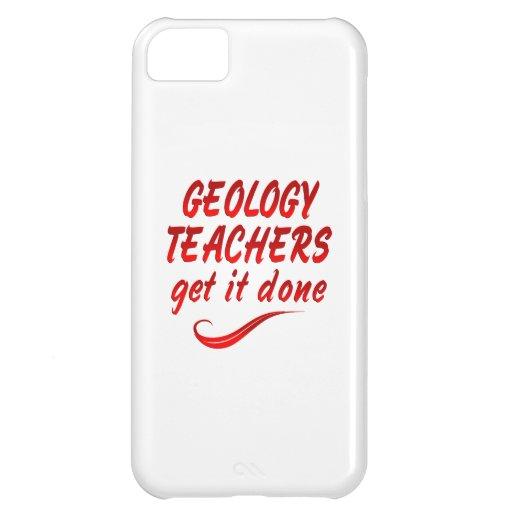 Profesores de la geología