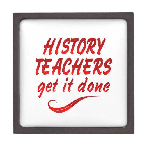 Profesores de la historia caja de regalo de calidad