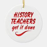 Profesores de la historia ornamento para reyes magos