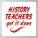 Profesores de la historia posters