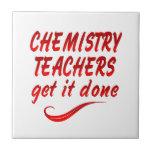 Profesores de la química azulejos cerámicos