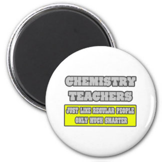 Profesores de la química… mucho más elegantes imán redondo 5 cm