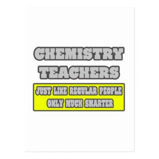 Profesores de la química… mucho más elegantes tarjeta postal