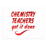Profesores de la química postal