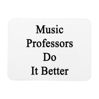 Profesores Do It Better de la música Iman De Vinilo