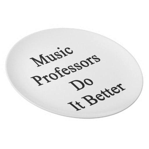 Profesores Do It Better de la música Plato