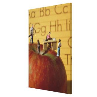 Profesores en Apple Impresión En Lona Estirada