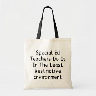 Profesores especiales de Ed Bolsa De Mano