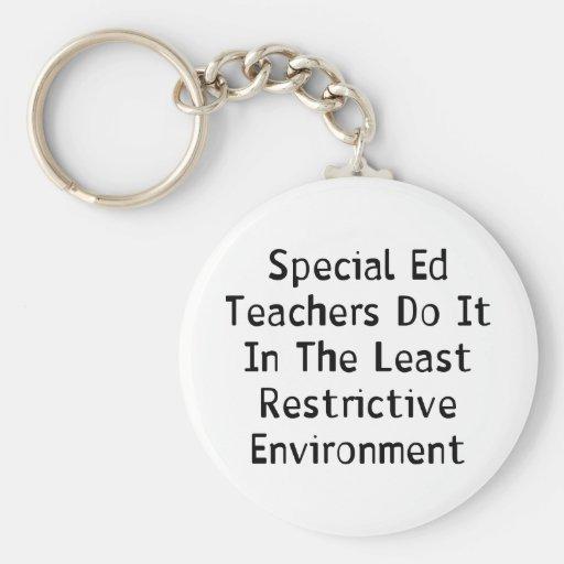 Profesores especiales de Ed Llavero Personalizado