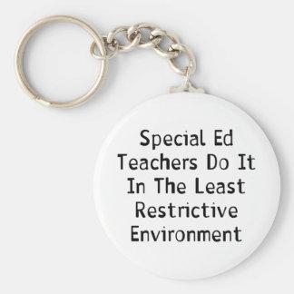 Profesores especiales de Ed Llavero Redondo Tipo Pin