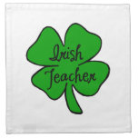 Profesores irlandeses servilletas