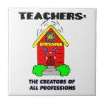 Profesores: Los creador de todas las profesiones Teja