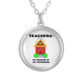 Profesores: Los creador de todas las profesiones Colgantes Personalizados