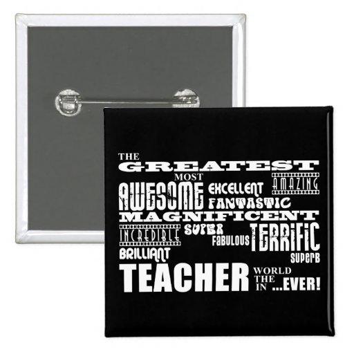 Profesores modernos frescos de la diversión: El mu Pins