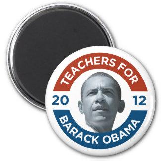Profesores para Barack Obama Biden 2012 Imán Redondo 5 Cm