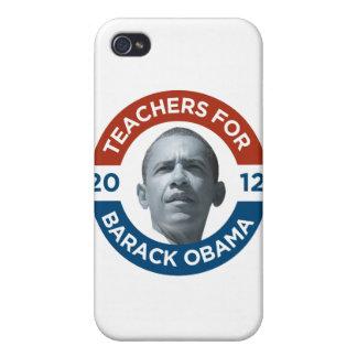 Profesores para Barack Obama Biden 2012 iPhone 4/4S Carcasas