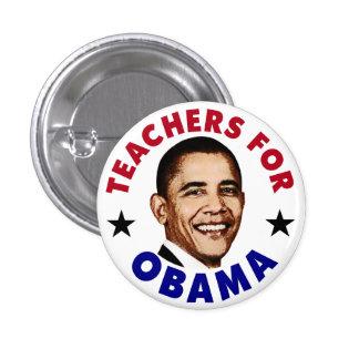 Profesores para el botón de Obama Pins