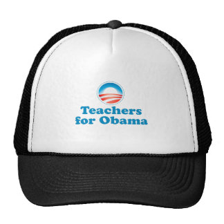 Profesores para Obama Gorras De Camionero