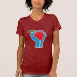 Profesores unidos: Rojo, blanco y azul Camiseta