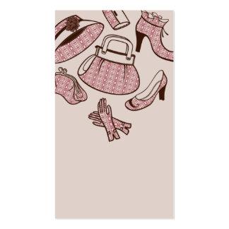 professinal shoe bag dealer business card template
