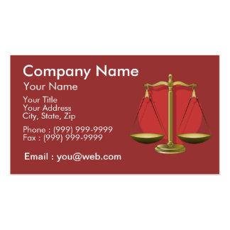 Profession avocat cartes de visite professionnelles