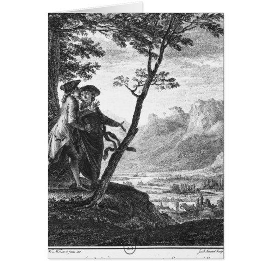 Profession of faith of the Savoyard vicar Card