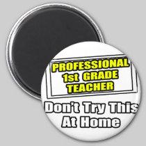 Professional 1st Grade Teacher...Joke Fridge Magnets