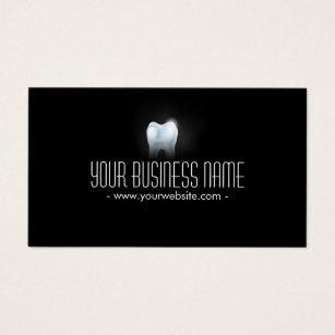 Dental business cards templates zazzle professional 3d tooth dental dentist business card colourmoves