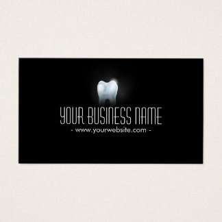 Professional 3D Tooth Dental Dentist Business Card