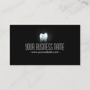 Dental business cards zazzle professional 3d tooth dental dentist business card colourmoves