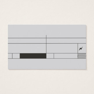 professional abstract concise design businesscard business card